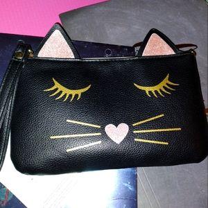 Cute Cat Face Wristlet/Portable Charger
